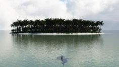 3D Beach Island