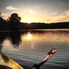 photo by lpropalis34: #kayaking #sunset #perfect