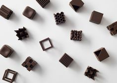 Chocolatexture will be in the Between Senses section of the exhibition.  Photograph by Akihiro Yoshida