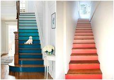 Ideas para pintar escaleras