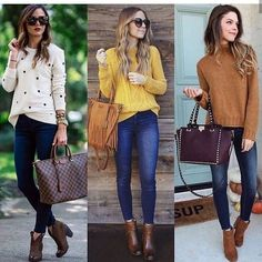 Awesome 42 Amazing Women Fall Outfit Ideas With Denim Shirts To Try Right Now Winter Outfits Women, Curvy Outfits, Mom Outfits, Casual Fall Outfits, Classic Outfits, Look Fashion, Autumn Fashion, Fashion Outfits, Curvy Fashion