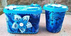 Decoração para Potes de Sorvete: exemplo de reciclagem! Os potes de sorvete são ótimos para guardar uma infinidade de coisas depois que o conteúdo termina. Isso por que eles fecham muito bem e são resistentes, feitos...