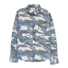 Camisa Denim Camuflaje Zadig & Voltaire Joven Infantil- Amplia gama de Moda en Smallable, el Family Concept Store - Más de 600 marcas.