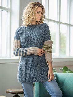 Strikkeopskrift: Carlisa sweater