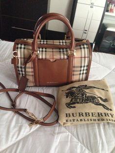 Burberry Haymarket Check Bowling Bag (2014 Greenbelt 4 ce4ecad2f5214
