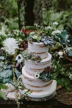 The Hottest Wedding Cake Trends of 2016 - Woodland Cakes