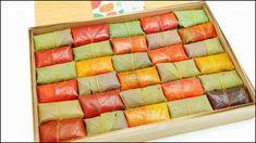 紅葉のシーズンのみに販売するカラフルな葉っぱを使った「紅葉柿の葉すし」試食レビュー - ライブドアニュース