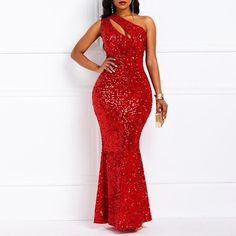 Ericdress Oblique Collar Sequins Floor-Length Sexy Mermaid Dress Fashion girls, party dresses long dress for short Women, casual summer outfit ideas, party dresses Fashion Trends, Latest Fashion # African Fashion Dresses, African Dress, Dress Fashion, Elegant Dresses, Casual Dresses, Stylish Dresses, Plain Dress, Plus Size Maxi Dresses, Long Dresses