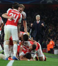 Arsenal 2-0 Bayern Munich (October 2015)