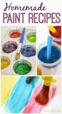 Bubble Paint recipes