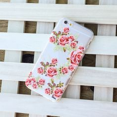 """Clear Plastic Case Cover for iPhone 6 (4.7"""") Henna Caladrina"""
