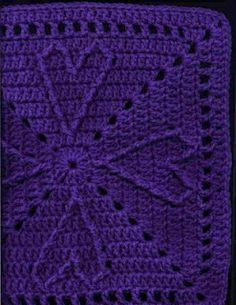 YarnCrazy crochet world-lots of pretty free granny squares