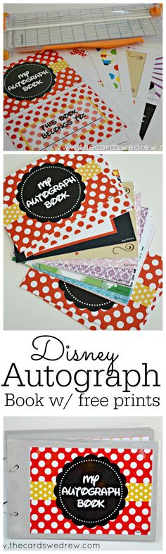 Heading to Disney? Download this free Disney Autograph Book printable for loads of Disney inspired signature pages for your little ones to fill up! #DSSMC