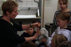 Zaterdag 23 oktober 2010 kregen de Kids for Animals een heuse konijnenworkshop in Het Knaaghof, de knaagdierenopvang van de Dierenbescherming Den Haag.