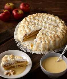 Omenahyve Something Sweet, Deli, Fall Recipes, Camembert Cheese, Food And Drink, Dairy, Baking, Desserts, Babyshower