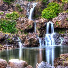 'Oheo Twilight, Kipahulu, Maui