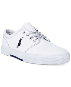 Love the Polo Ralph Lauren Faxon Low Leather Sneakers on Wantering. Zapatos Ralph  Lauren e45b481f74