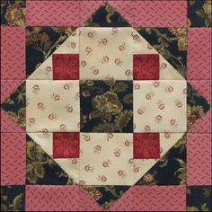Austen Family Album: Block 26: Fanny's Favorite for Fanny Knight