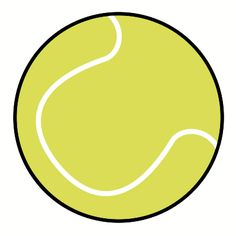 tennis ball how to draw