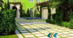 Placas para piso concreto pisadeira jardim