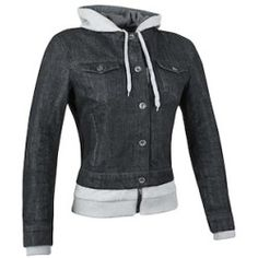 speedand_strength_fast_times_tex_jkt_black_detail Best Deal Dainese Blackjack Leather Jacket (Color: Grey/Black/Yellow / Size: 44)