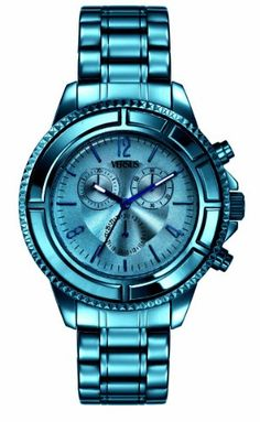Men's Wrist Watches - Versus by Versace Mens SGN050013 Tokyo Stainless Steel Luminous Hands Chronograph Date Watch -- Learn more by visiting the image link. (This is an Amazon affiliate link)