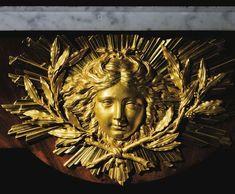 a mask of Apollo, 18th c.