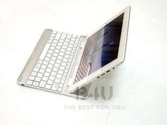 B4U New Aluminum Bluetooth 3.0 Wireless Mobile Keyboard For Tablet Ipad