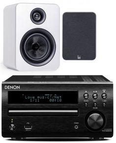 -Denon DM40DAB Mini System Black inc Roth OLi RA1 from HiFix