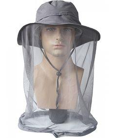 Men s Summer Outdoor UPF 50+ Sun Hat with Mesh Face Mask Fishing Hat Dark  Gray C9183ID9C8E 7fc532ddfcd8