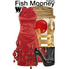 Inspired by Jada Pinkett Smith as Fish Mooney on Gotham. #television #wearwhatyouwatch