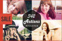 Check out (Sale) 342 Photoshop Action Bundle by symufa1 on Creative Market