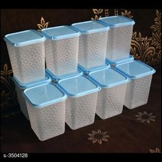 Checkout this latest Jars & Containers Product Name: *Useful Plastic Boxes (Pack Of 12)* Material: Plastic Product Breadth: 11 Cm Product Height: 11 Cm Product Length: 14 Cm Pack Of: Pack Of 1 Country of Origin: India Easy Returns Available In Case Of Any Issue   Catalog Rating: ★4.2 (13902)  Catalog Name: Kitchen Storage Plastic Boxes set Combo CatalogID_487728 C130-SC1428 Code: 924-3504128-939
