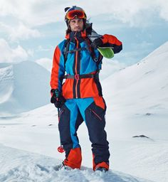 Mens Ski Wear, Mens Skis, Alpine Skiing, Outdoor Wear, Ski Fashion, Peak Performance, Snow Suit, Trends, Sports