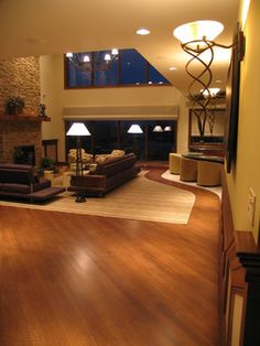 Living Room Wood Floor Designs Diamond Shape Design Ideas, Pictures, Remodel, and Decor - page 2