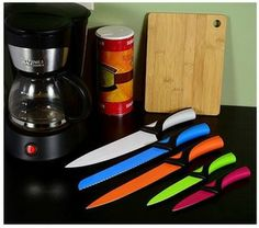 5-piece set: Chefware Solutions stainless steel nonstick knives for $19.99! from dealspl.us