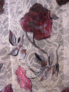 designer fabric burnout fabric silk velvet fabric by fabricniche, $25.00