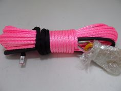 high quality 10mm*30m synthetic atv winch rope for electric winch,cable winch for wheel accessaries
