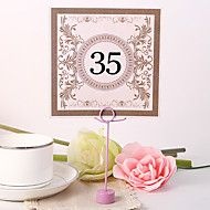 Place+Cards+and+Holders+Square+Table+Number+Card+...+–+AUD+$+8.57