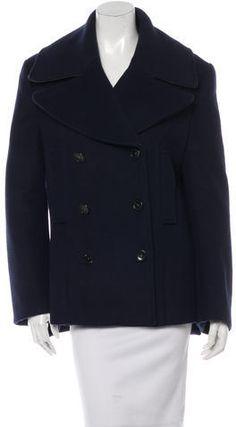 Acne Wool Double-Breasted Coat Double Breasted Coat, Mantel, Wool, Stylish, Jackets, Fashion, Down Jackets, Moda, La Mode