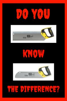 Woodworking Tips DIY! - Hand Saws - What you need to know!