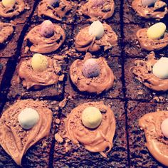 Easter brownies