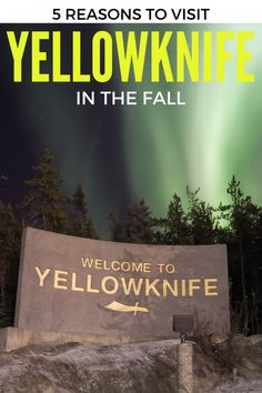 Thinking of heading to Northern Canada's largest city? You will find plenty to see and do, even if you visit Yellowknife in the Fall. Read on. Travel Articles, Travel Info, Travel Tips, 2 Days Trip, Day Trips, Yellowknife Canada, Northern Canada, Canada North, Northwest Territories
