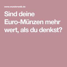 Sind deine Euro-Münzen mehr wert, als du denkst?