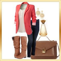 Cute for fall+ would love to experiment with stylin blazers