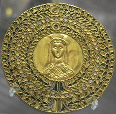 10d75274693 Médaillon of Byzantine Empress Licinia Eudoxia