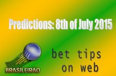 Campeonato Brasileiro: 8th of July, 2015 (predcitions)