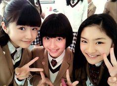 #YUI MIZUNO & SARA KURASHIMA &MEGUMI OKADA #SAKURA GAKUIN #BABYMETAL http://ameblo.jp/sakuragakuin/entry-11967649925.html