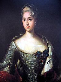 Menshikov's eldest daughter, Princess Maria who was engaged to the future Peter II of Russia but followed her father into exile.