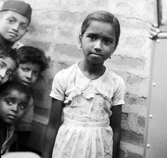 A young Indian girl and some friends